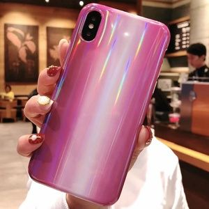 Accessories - NEW iPhone XS Max Purple Marble Laser Case